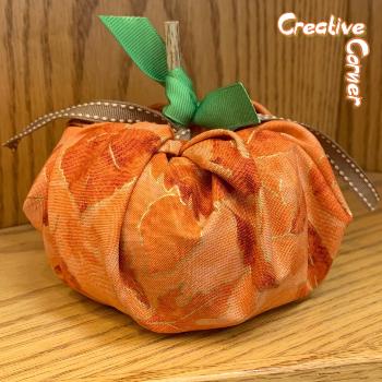 fabric pumpkin=