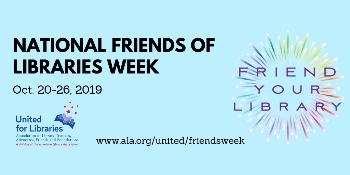 National Friends of Libraries Week=