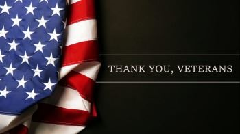 Thank you, veterans=