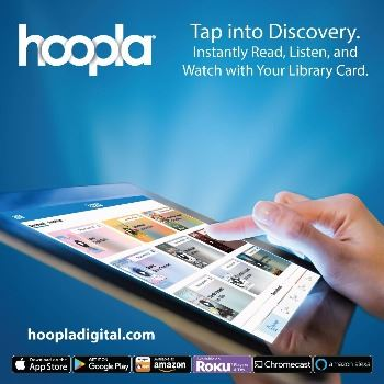 Hoopla - Tap into Discovery.