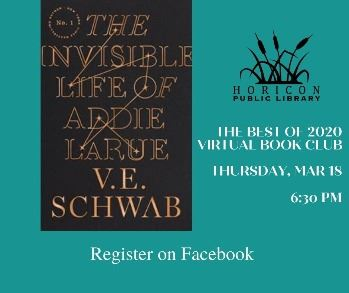 cover art for the Invisible life of addie larue by v.e. schwab