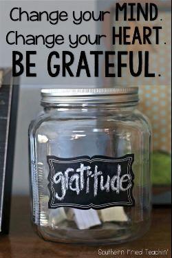 Gratitude Jar=
