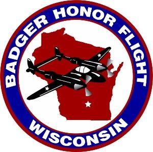 Badger Honor Flight Logo